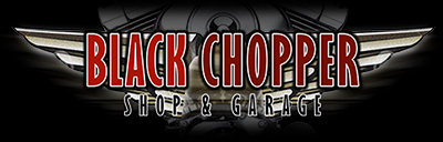 Black Chopper Shop Logo